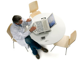 Physicians read images in DICOM, HTML